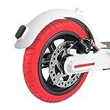ABEDOE 2PCS Neumático de Scooter Eléctrico de Repuesto de 10 Pulgadas Compatible con el Scooter Eléctrico Xiaomi M365,Tubo Exterior de Neumático de Reforma de DIY