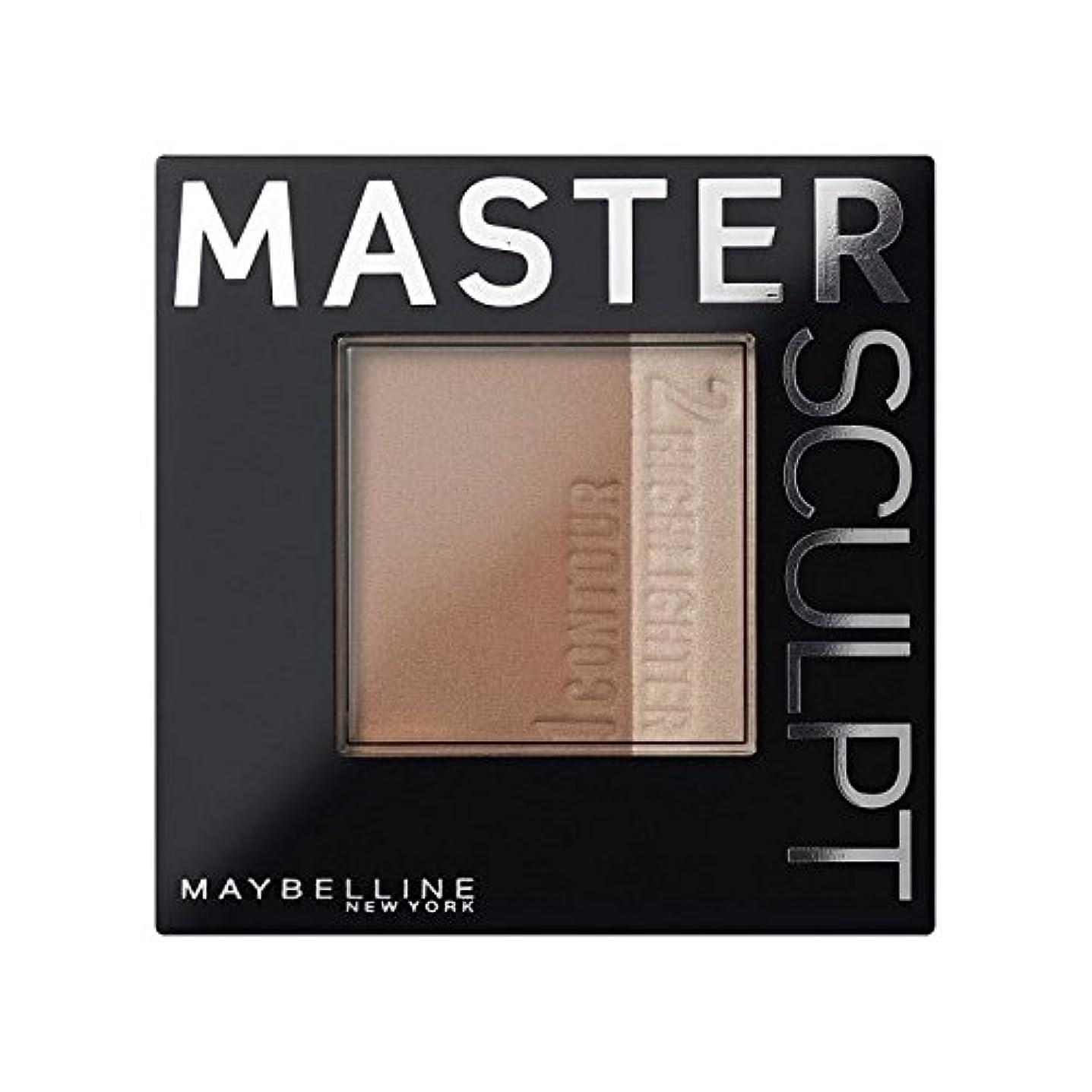プロペラ機転副メイベリンマスタースカルプト基盤02の /暗い輪郭 x2 - Maybelline Master Sculpt Contouring Foundation 02 Med/Dark (Pack of 2) [並行輸入品]