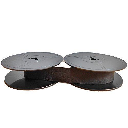 Farbband schwarz für DIN 32755-53mm Durchmesser Doppelspule, kompatibel Marke Faxland
