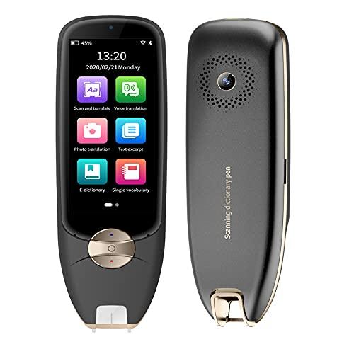 Dispositivo di traduttore, dizionario Scanner Reader Pen con 116 lingue WiFi Portatile Voice Text Foto Traduzione elettronica traduttore español USB Ricarica per Inglese Cinese Learners Multi-Language