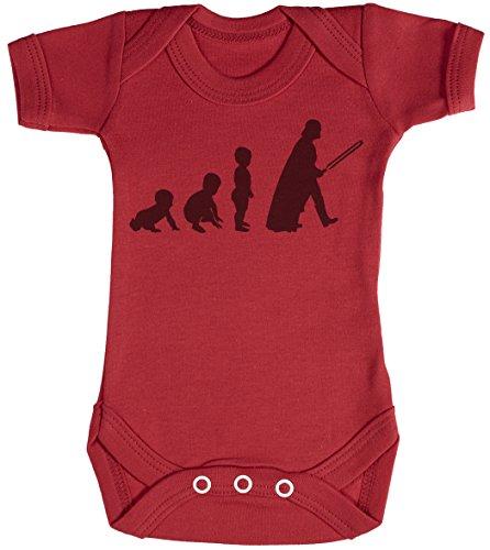 Baby Evolution to A Vader Body bébé - Gilet bébé - Body bébé Ensemble-Cadeau - Naissance Rouge