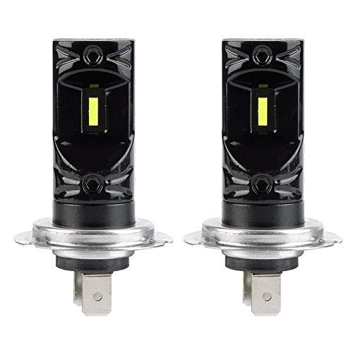 2 unids H7 V5 Super brillante CSP 6500 K LED faro conversión kit faro haz LED lámparas niebla bombillas