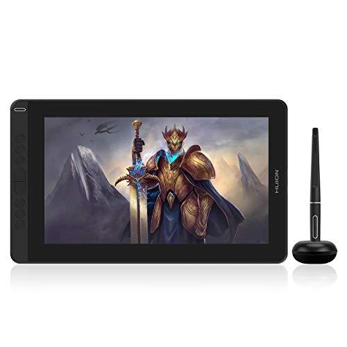 HUION kamvas 13 Tableta digitalizadora 5080 líneas por Pulgada 293,76 x 165,24 mm USB Negro