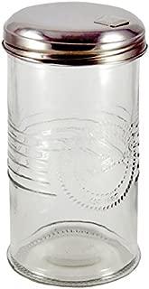 Grant Howard Old Fashioned Glass Sugar Dispenser, 14 Ounces
