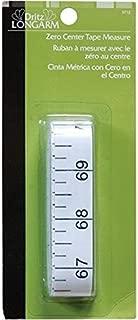 Dritz Longarm 3712 Zero Center Tape Measure, 3/4 x 144-Inch