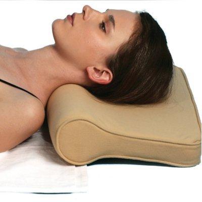 Turion Cervical Pillow Spondylosis Neck & Back Pain Support - Universal For Senior Citizen Men Women