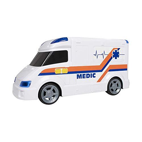 Ambulancia 42 CM. con LUZ Y Sonidos TEAMSTERZ