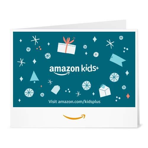 Amazon eGift Card - Amazon Kids+ Christmas Gifts (Print)