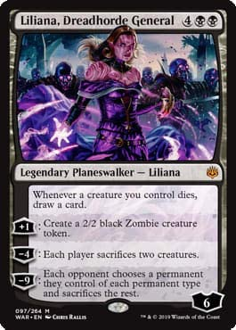 Magic: The Gathering - Liliana of General War Dreadhorde Max 56% OFF Max 63% OFF