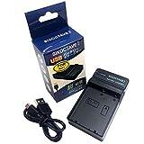 str オリンパス OLYMPUS BLH-1 対応急速互換USB 充電器 カメラ バッテリー チャージャー BCH-1 [メーカー純正互換バッテリー共に充電可能] OM-D E-M1 Mark II/OM-D E-M1X / OM-D E-M1 Mark III