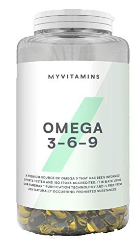 My Protein Omega 3-6-9 Supplement, 1000 mg (120 Softgels)