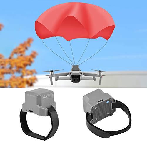 BSTEle Drone Parachute Safety Drone Flight Umbrella Compatibile per DJI Mavic Air 2 Drone