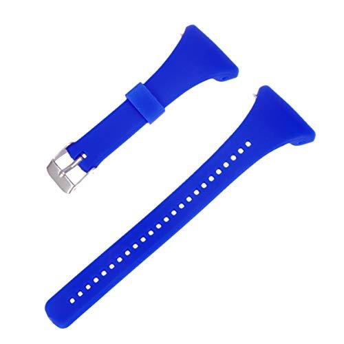 NICERIO Correa de Reloj Compatible con Polar FT4 / FT7, Correa de Repuesto de Correa de Reloj de plástico con Correa de muñeca de liberación rápida para Hombres y Mujeres(Azul)