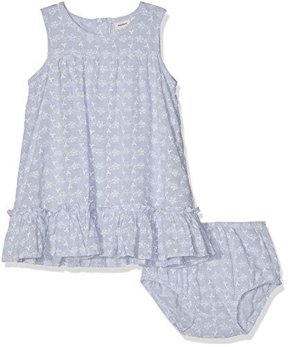 NAME IT Baby-Mädchen NBFFAIRY SPENCER W. BRIEF Bekleidungsset, Blau (Skyway), (Herstellergröße: 68)
