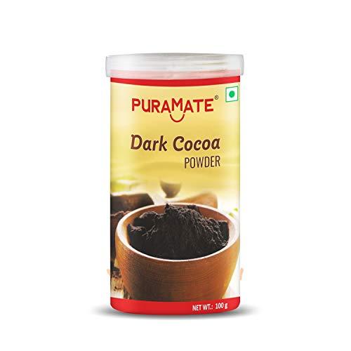Puramate Dark Cocoa Powder (Sprinkler Can), 100 Gm