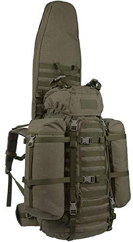 Wisport Jagdrucksack mit Gewehrfutteral + inkl. E-Book | großer Rucksack Jagd | Jagdtasche für Luftgewehr | Jagdgewehr Tasche | Gewehrtasche lang | Jäger | Cordura | ShotPack 65L RAL-7013