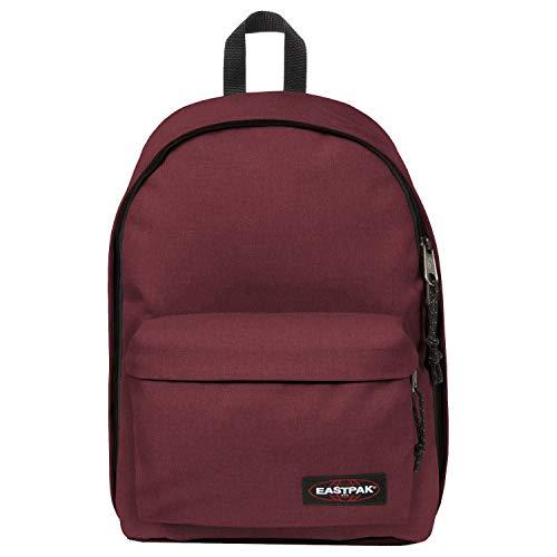 EASTPAK Out Of Office Rucksack, Polyester, Rot, Uniform, 33 cm, Vordertasche, Reißverschluss