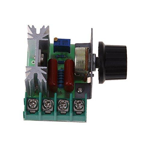 Regolatore di Velocità del Motore Regolabile da 2000W AC 50-250V 25A Variatore di Velocità Regolatore di tensione PW