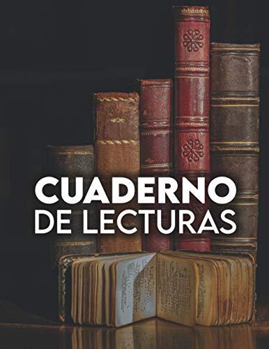 Cuaderno de lecturas: Bitácora de lectura diaria con resumen, libros para leer, lista de lectura semanal, planificador de lectura, reseña de libros / diario de lectura / cuaderno lectura