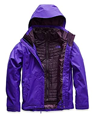 The North Face Womens Mossbud Swirl Triclimate Jacket NF0A3O747BN_L - Deep Blue/Deep Blue