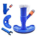 Swimming Pool Spa Or Pond Vacuum Cleaner Brushes Head For Bathing Pool Garden Pool and Spa Vacuum Brush Pool Cleaning Tool Underwater Cleaner Leaves Dirt and Sand Silt