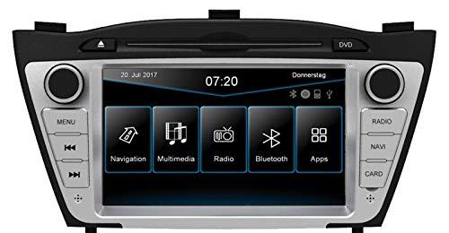 ESX | Hyundai iX35 | 2-DIN Autoradio mit Navigation | VN720 HY-iX35