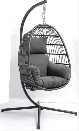 KGWSWE Visera plegable de aleación de aluminio para exteriores, jardín, balcón, canasta, silla columpio (color: cesta individual)