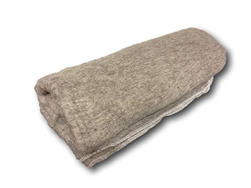 Manta de lana húngaro del ejército de ropa de cama