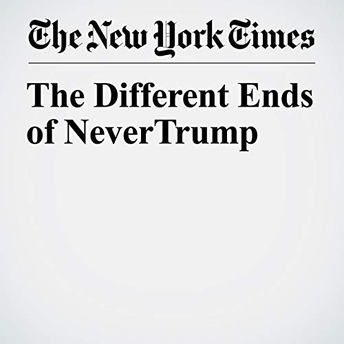 The Different Ends of Never Trump copertina