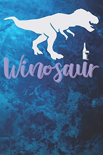 Winosaur: Wine Lover's 125 Page Journal