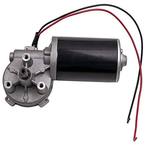 maXpeedingrods 24V DC Adaptador Eléctrico Motorreductor velocidad Torque Reversible Caja 45W