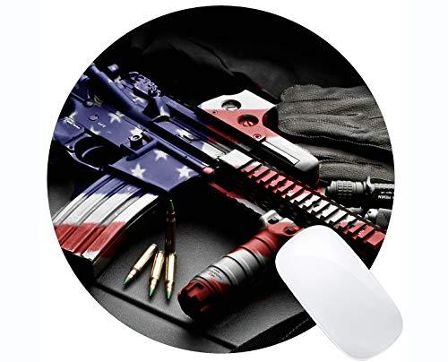 Your own Customized Mousepad,Colt AR-15 Firearm Gun Patriotic Rifle Rubber...
