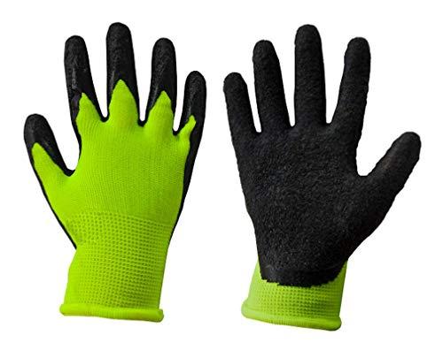 Kinder Arbeitshandschuhe Schutzhandschuhe Gartenhandschuhe Handschuhe Kinderhandschuhe orange Gr. 2-6