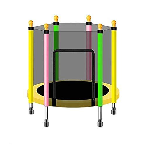 Lamyanran Trampolin Brincolin para Niños y Adultos Trampolín al Aire Libre, MAX 200 kg, Trampolín de los niños, Jardín Trampolín Completa Red de Seguridad y Sistema Incluyendo Cubierta Edge Regalo