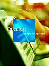 Calculus: An Applied Approach 7th edition by Larson, Ron; Edwards, Bruce H. published by Brooks Cole Hardcover
