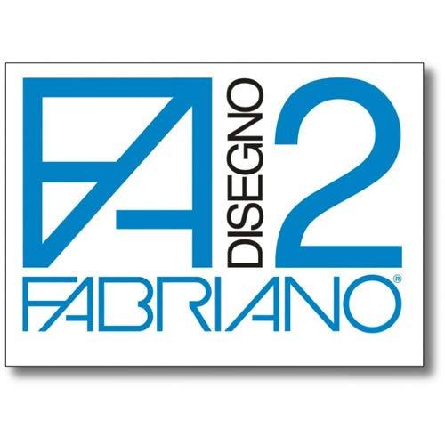 ALBUM DA DISEGNO FABRIANO F2 RUVIDO - CM. 33X48