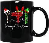 N\A Feliz Navidad Reno Las Tijeras secador de Pelo Regalo Na