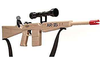 Magnum Enterprises Wooden AR-15 Rifle with Scope and Sling