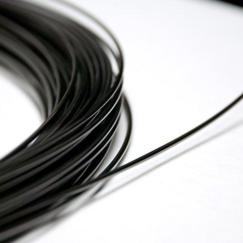 5 Feet Nitinol Shape Memory Pre-trained Wire (1.0mm 40 C (18ga 104 F))