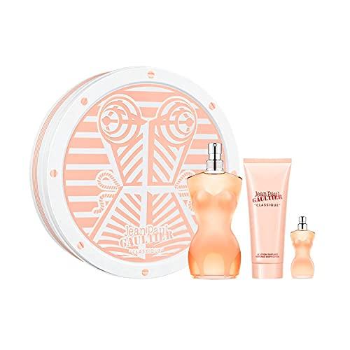Jean Paul Gaultier Classique Eau de Parfum 100Ml Vaporizador + Locion Corporal Perfumada 50Ml + Miniatura 1U. 50 ml