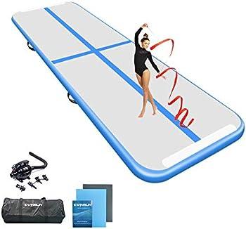 Ewinsun 10-ft Inflatable Gymnastics Mat with Electric Pump