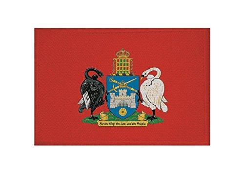 U24 Aufnäher Canberra Fahne Flagge Aufbügler Patch 9 x 6 cm