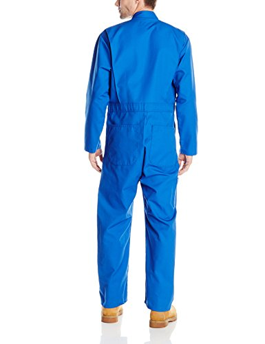 Red Kap Men's Long Sleeve Twill Action Back Coverall, Electric Blue, 48