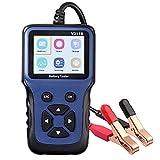 AUTOUTLET Tester batteria auto 12V 100-2000 CCA Tester professionale per carica batteria a...
