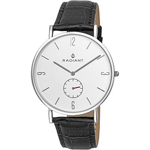 Reloj Radiant hombre Diary Silver Black Croco RA377628 [AB9295] - Modelo: RA377628