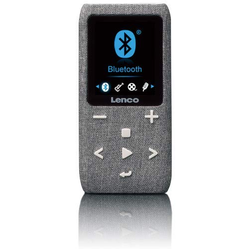 Lenco Xemio-861 - Bluetooth MP3-speler - 8 GB micro-SD-kaart - Bluetooth - FM-radio - spraakmemofunctie - 1,8