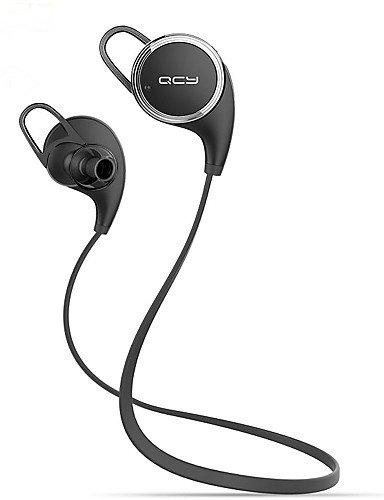 zzll8451 qy8 qcy los mini deportes estéreo inalámbricos que ejecutan earbuds auriculares bluetooth auriculares (blanco&negro) KKKAOOL