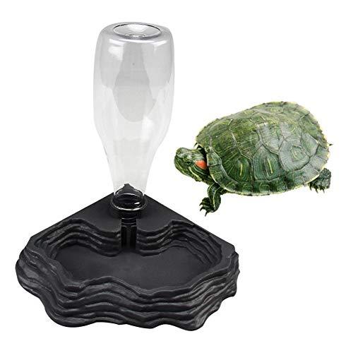 arthomer Automatischer Wasserspender für Reptilien, Tränken für Kleintiere, Reptilien, Amphibien, Spender für Schildkröten, Schildkröten, Gecko, Chamäleon