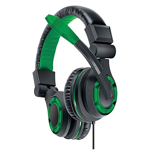dreamGEAR: GRX-340 Advanced, Wired Stereo Gaming Headset for XBOX One Includes Inline Dual Volume Control For Chat and Game Sounds. Also works with PS4, and other systems