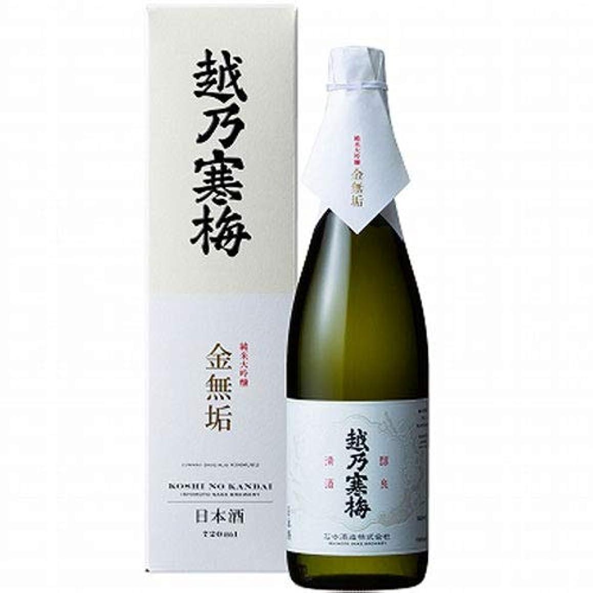 ナビゲーションバナーごちそう石本酒造 越乃寒梅 金無垢 (純米大吟醸)720ml